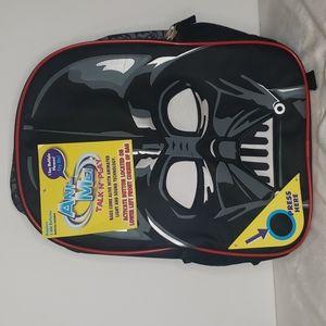Darth Vader Star Wars Light Up Talking Backpack